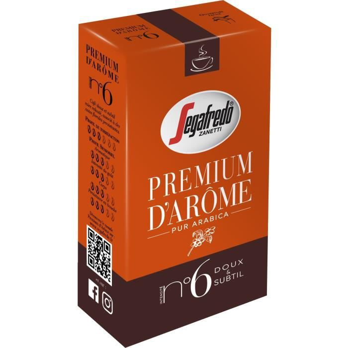 SEGAFREDO Premium D'Arome N°6 Ml 250 g