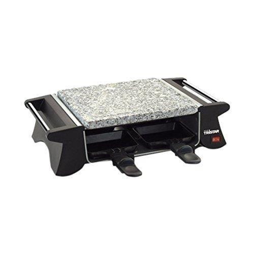 Tristar RA-2990 Appareil à Raclette 4 Personnes 500 W,Noir RA-2990