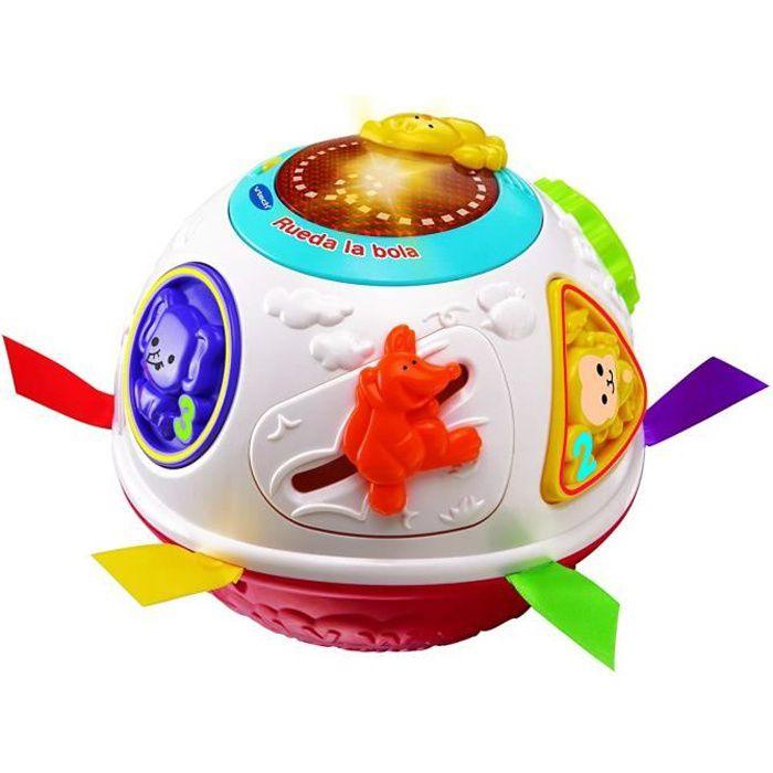 VTech Baby 3480-151522 - COMMUTATEUR KVM - Jouet d?éveil pour bébé Blanc (français non garanti) multicolore