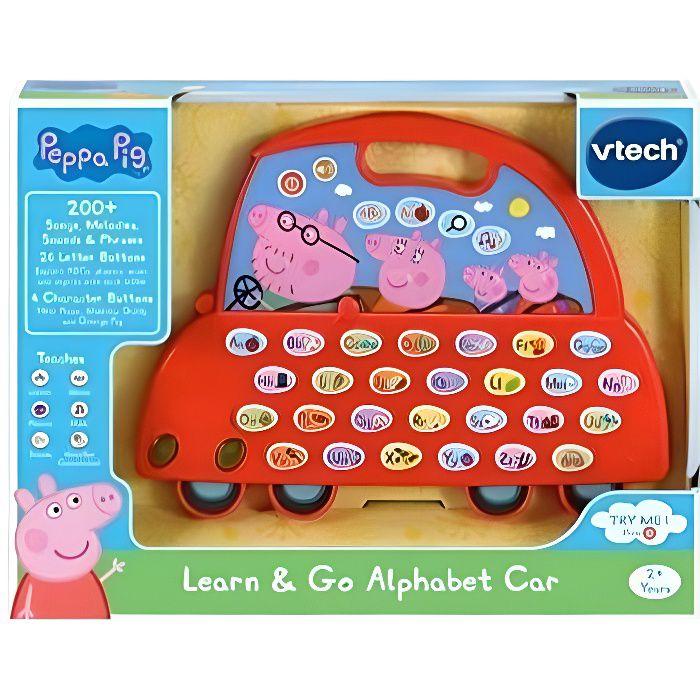 VTech Pig El Auto Alfabeto de Peppa (3480-530622)