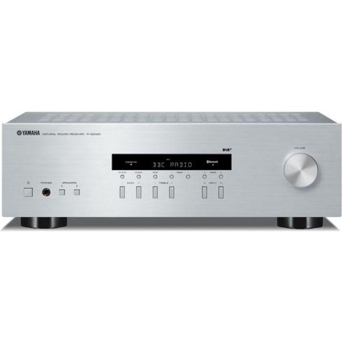 YAMAHA R-S202D Ampli-tuner Hi-Fi - 2 x 100 W - Tuner DAB+ - Bluetooth - système d'enceintes A et B