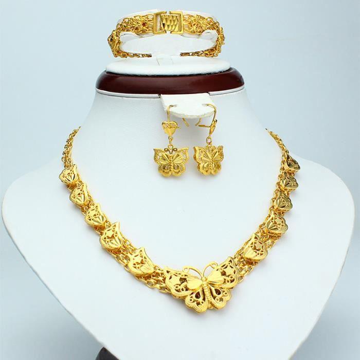 Women/'s double anneaux 18k or jaune rempli Zircon Mode Bijoux Taille 7 8