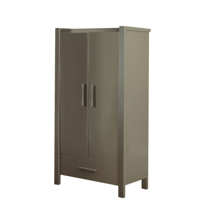 armoire b b goeland taupe achat vente armoire. Black Bedroom Furniture Sets. Home Design Ideas
