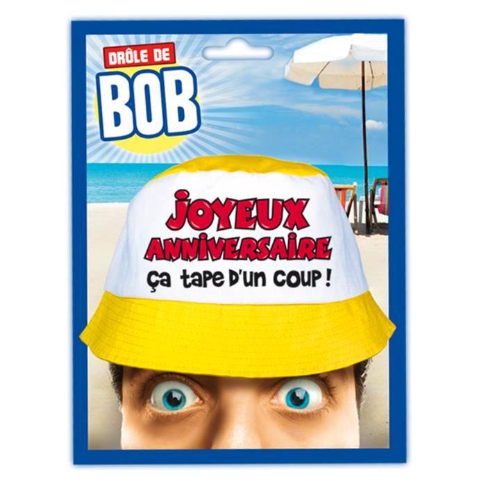 Bob Message Joyeux Anniversaire Adulte Achat Vente Decors De Table Cdiscount