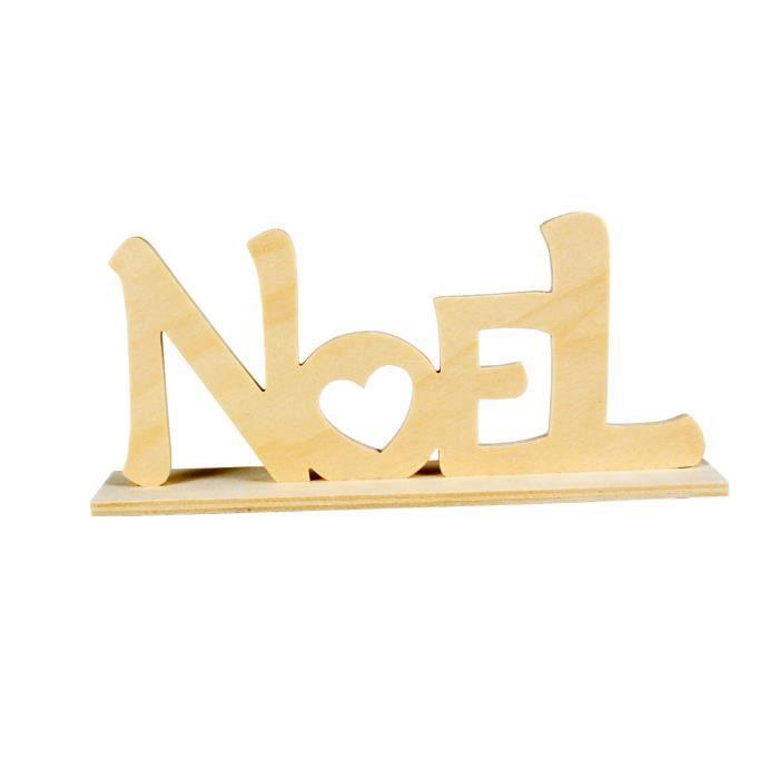 Mot Noel Bois A Poser 20 X 9 X 4 Cm Megacrea Diy Couleur Achat Vente Kit Scrapbooking Mot Noel Bois A Poser 20 X 9 Cdiscount