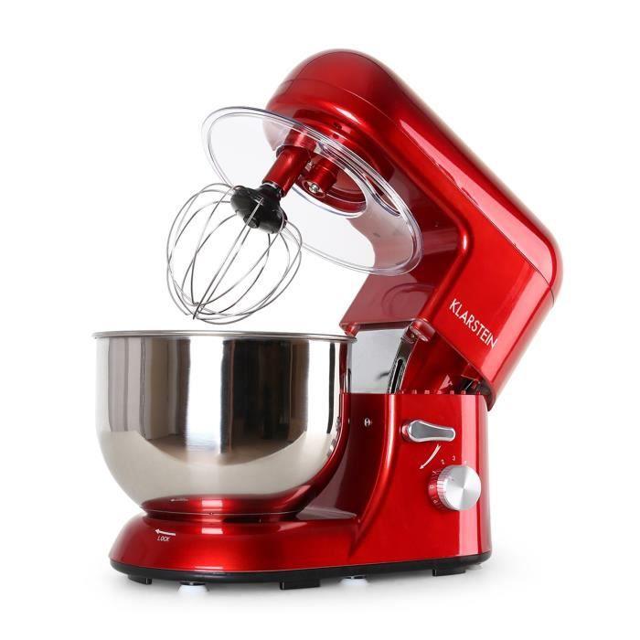Klarstein Bella Rossa Robot De Cuisine Multifonction Robot