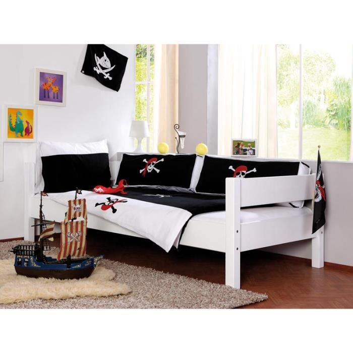 housse de couette pirate achat vente housse de couette cdiscount. Black Bedroom Furniture Sets. Home Design Ideas