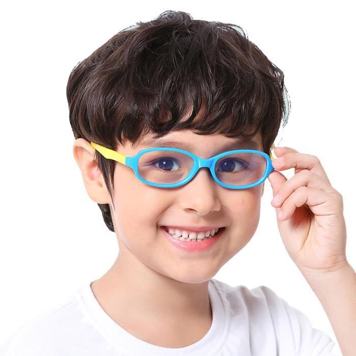 Lunettes Bloquants Lumi/ère Bleue Lunette Anti Fatigue Oculaire Enfants pour T/él/éphones Ordinateur TV Video Jeu Filles Gar/çons