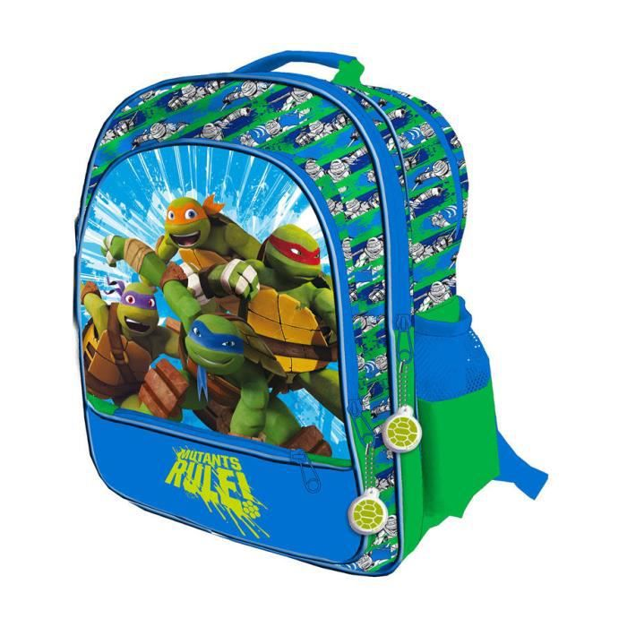 cartable tortues ninja grand cartable 4 zips adaptable tr - Cartable Tortue Ninja