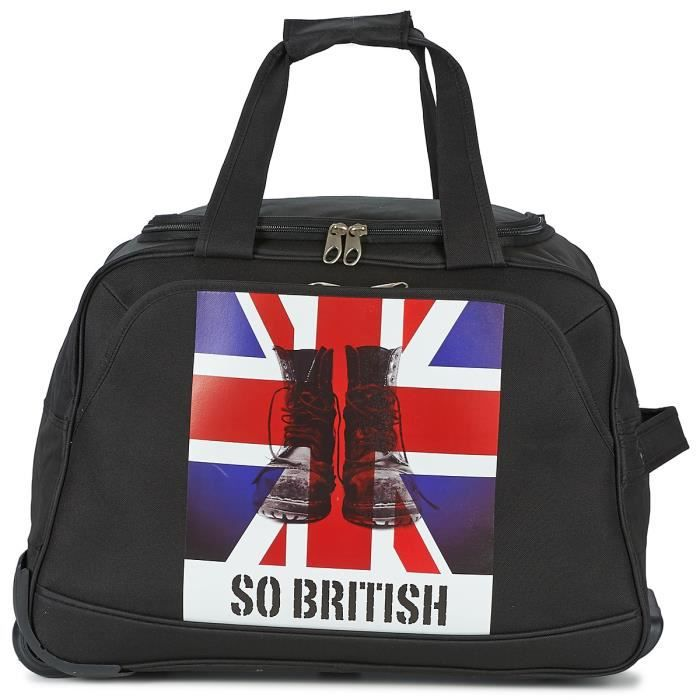 sac voyage roulettes british de david jones achat vente valise bagage 3563770001228. Black Bedroom Furniture Sets. Home Design Ideas