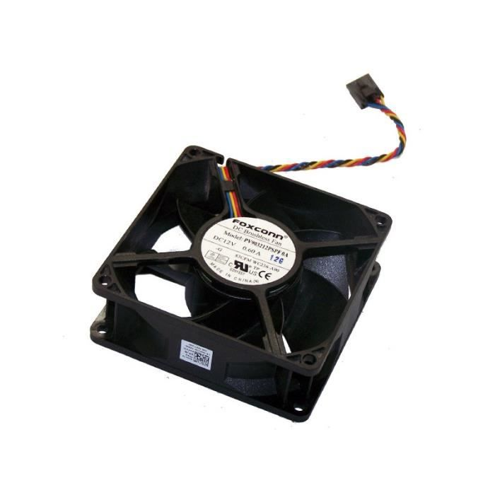 Dell Ventilateur Radiateur CPU Genuine Optiplex 3010 SFF Heatsink Fan 00KXRX 8cm