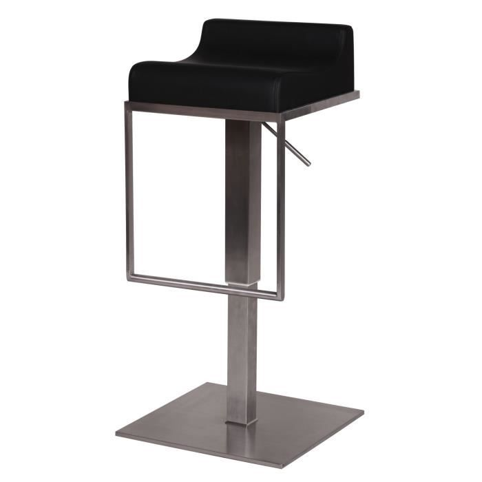 tabouret de bar inox. Black Bedroom Furniture Sets. Home Design Ideas