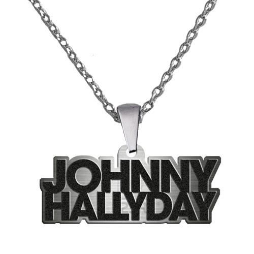 pendentif et cha ne johnny hallyday achat vente parure. Black Bedroom Furniture Sets. Home Design Ideas