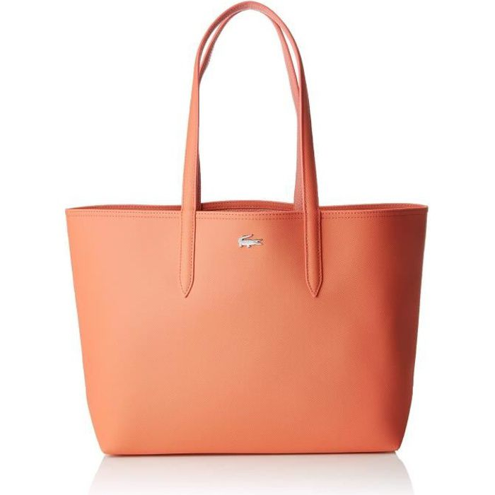 Lacoste femme Nf2142aa Sac porte epaule Rose (Coral Lobster Bisque ...