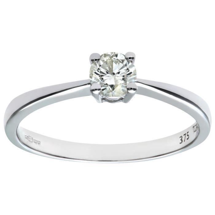 bague solitaire diamant cdiscount