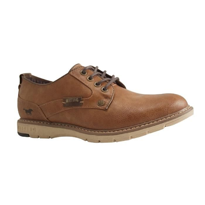 Marron Mustang Shoes Achat 303 4105 301 Derby xAFpX0q