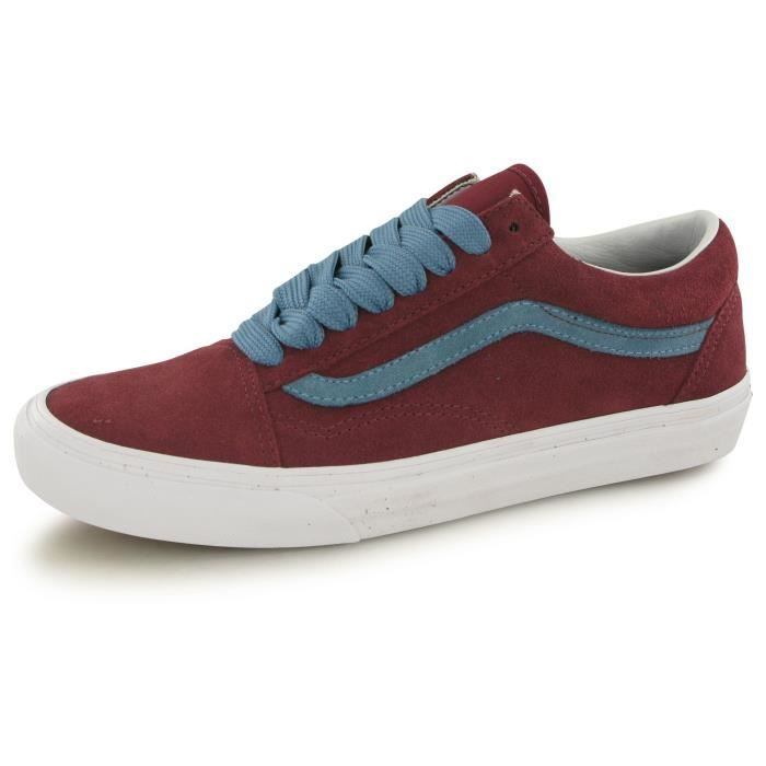 vans bordeaux old skool homme