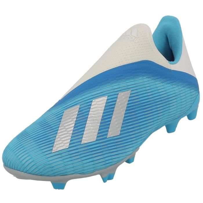 Chaussures football lamelles X 19.3 ll fg sans lacet - Adidas