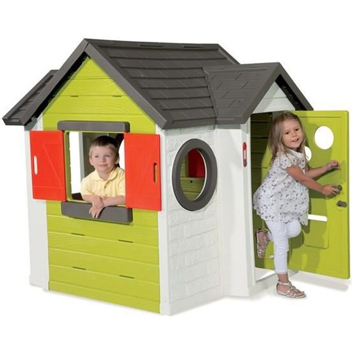 smoby maison enfant my house achat vente maisonnette ext rieure cdiscount. Black Bedroom Furniture Sets. Home Design Ideas