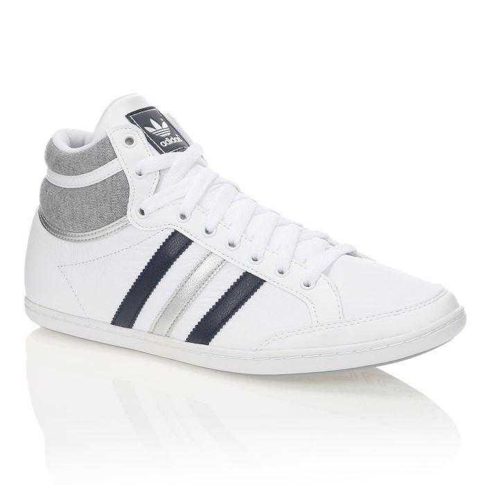 ADIDAS Baskets Plimcana Mid Homme Blanc Achat Vente