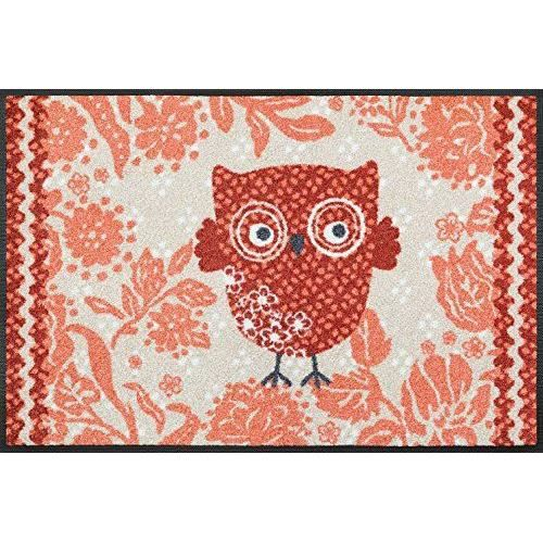 Wash dry 068228 owly hedwig tapis nylon caoutchouc nitrile for Tapis cuisine wash and dry