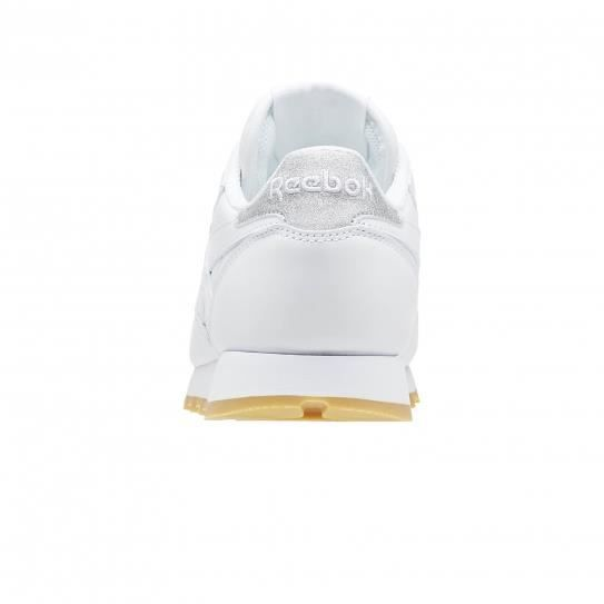 Chaussures Cl Leather Met Diamond W White e17 - Reebok