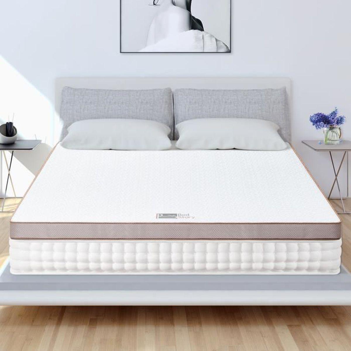 MATELAS BedStory Surmatelas 140x200 Mémoire de Forme Gel I