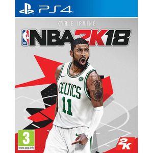 JEU PS4 NBA 2K18 Jeu PS4