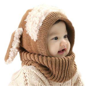BONNET - CAGOULE Bonnet écharpe hiver enfant fille bébé garçon cago