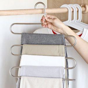 PATÈRE S Type Pantalon Pantalon Cintre Multi-couches En A