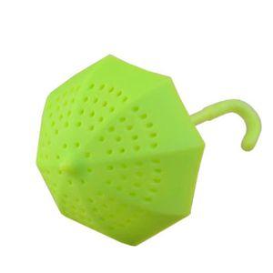 Belle cuillère design silicone Total Infuseur Thé Gadget pour sachets de thé feuille mobile JL