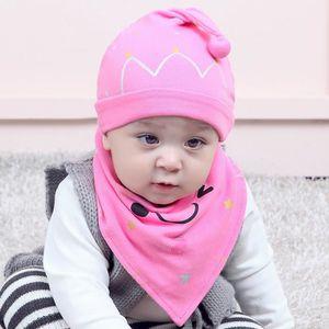 BAVOIR 2pcs set coton bébé garçon fille casquette chapeau