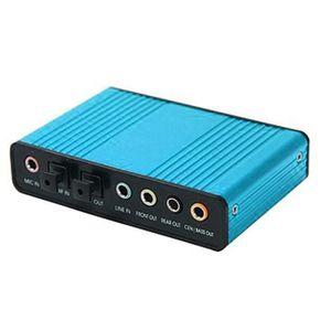 ADAPTATEUR BLUETOOTH XY Carte son externe optique USB 5.1 canaux SPDIF