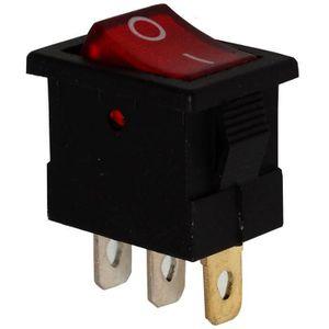 AERZETIX Interrupteur commutateur contacteur bouton /à bascule bleu DPST ON-OFF 6A//250V 2 positions