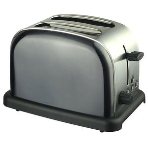 GRILLE-PAIN - TOASTER GRILLE PAIN MODELE HGP33 METALLlISE GRAY
