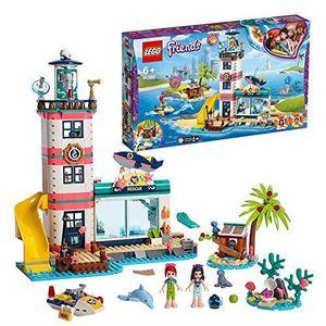ASSEMBLAGE CONSTRUCTION LEGO®-Friends Le centre de sauvetage du phare Joue