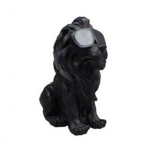 ENCEINTE NOMADE haut parleur bluetooth lion noir mate enceinte blu