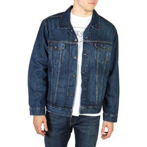JEANS Levi's - Veste en jean - Bleu indigo à effet délav