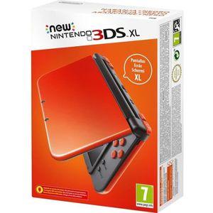 CONSOLE NEW 3DS XL Console New Nintendo 3DS XL orange et noir