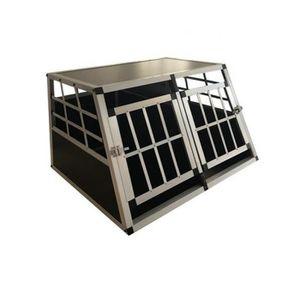CAISSE DE TRANSPORT Cage Transport Chien Double Aluminium Small