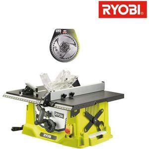 SCIE ÉLECTRIQUE Pack RYOBI Scie sur table électrique 1800W 254mm R