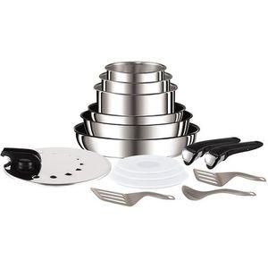 BATTERIE DE CUISINE Tefal L9409602 Ingenio - Set de poêles et casserol