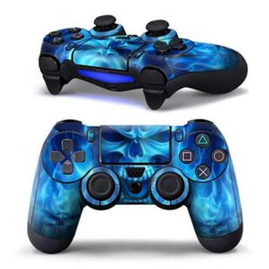 autocollant manette ps4 achat vente autocollant manette ps4 pas cher cdiscount. Black Bedroom Furniture Sets. Home Design Ideas
