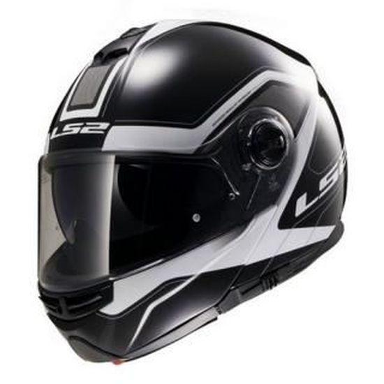 Taille L Noir LS2 Casque moto STROBE Noir L