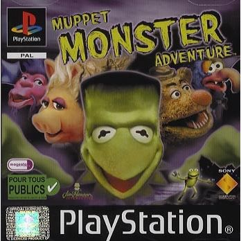 JEU PS1 MUPPET MONSTER ADVENTURE / JEU CONSOLE PLAYSTATION