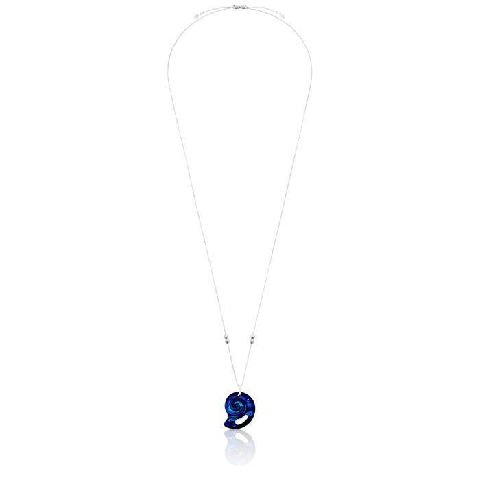 ALEX AND ANI Cristal de la chaîne Pull Infusion, Nautilus, Varech Collier avec pendentif vert 1B4LX4
