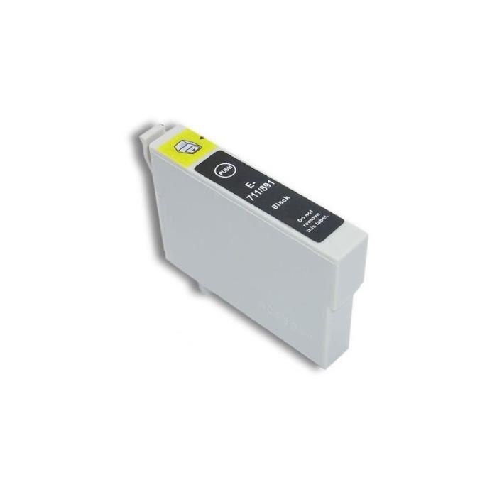 Cartouche d encre EPSON compatible T0711 /891 noir 19 ml.