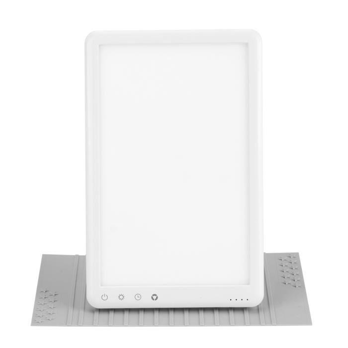 Lampe de Thérapie LED de Simulation de Lumière du Soleil avec Gradation à 3 Niveaux pour Chambre Maison 110‑220V(Prise US )