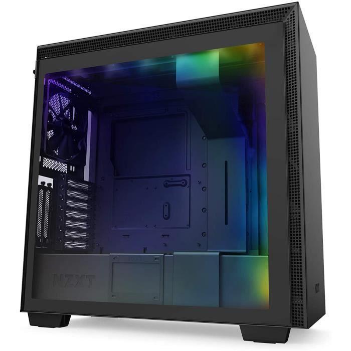 BOITIER PC NZXT H710i - Bo&icirctier PC Gaming Moyenne Tour ATX - Port I-O USB Type-C en Fa&ccedilade - Panneau Lat&eacuteral23