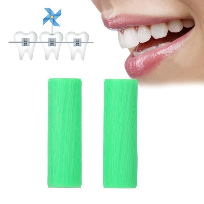 Aligner Chewies Silicone Invisible Correction Retainer Morsure Orthodontique Dents Chewies Vert